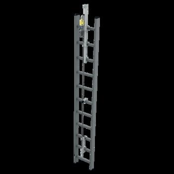 Záchytný systém na žebřík